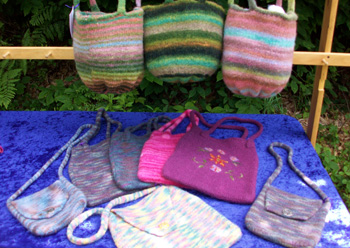 felted handbags