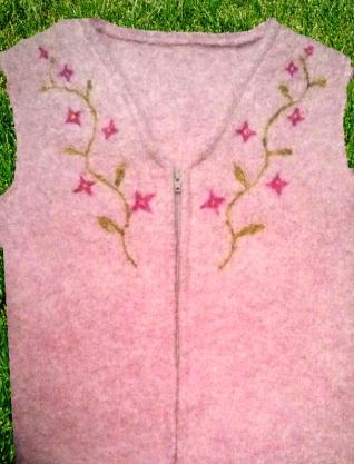 vest pink